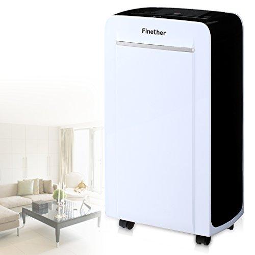finether 12l d d shumidificateur d air intelligent de contr le num rique silencieux compact. Black Bedroom Furniture Sets. Home Design Ideas