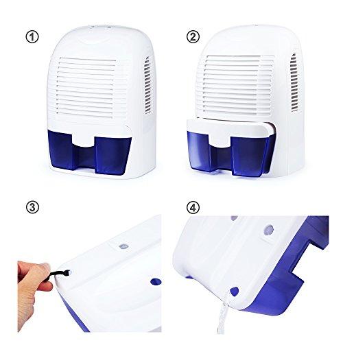 d shumidificateur electrique aidodo d 39 air deshumidificateurs absorbeu. Black Bedroom Furniture Sets. Home Design Ideas