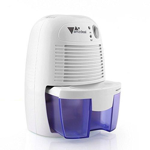 amzdeal d shumidificateur electrique avec 1500ml r servoir d 39 eau pou. Black Bedroom Furniture Sets. Home Design Ideas
