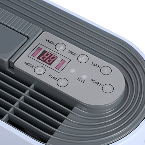 finether 12l d d shumidificateur d 39 air intelligent de. Black Bedroom Furniture Sets. Home Design Ideas