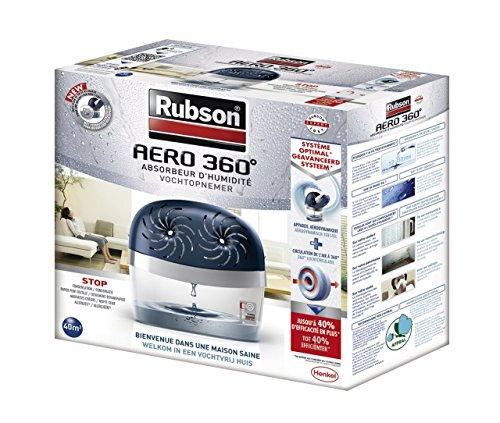 rubson absorbeur aero 360 stop 40 m avec 2 recharges choix deshumidificateur. Black Bedroom Furniture Sets. Home Design Ideas